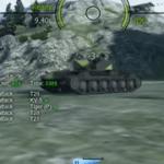 【RhmB WT】山岳路/12.8cm砲は素晴らしい【WoT】