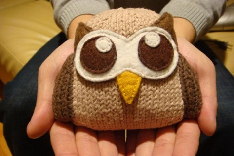 Owly in your hands