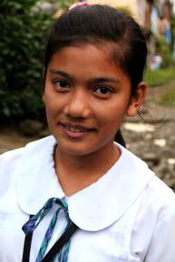 At 15, Mabelle is one of the leaders of her savings and credit association in Tagaytay. She plans to use her savings for school supplies and clothes.