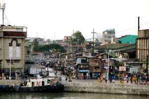 With approximately 12 million residents, the Filipino capital of Manila is one of the world's most populous cities. Sanitation and overcrowding are major issues, especially in slum communities.
