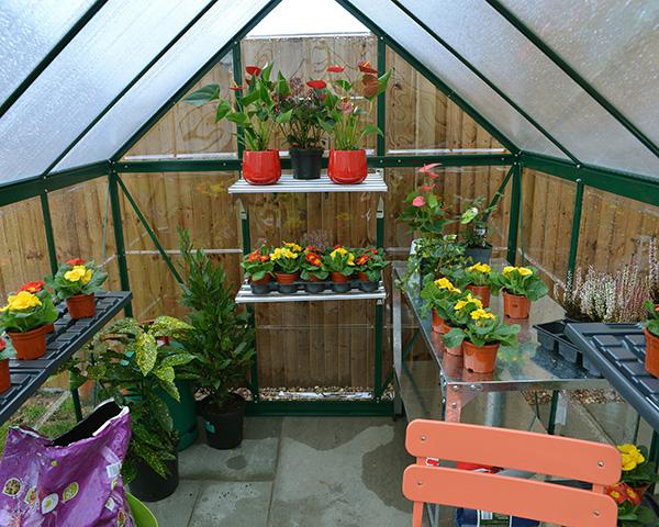 Palram Hybrid Greenhouse - Inner
