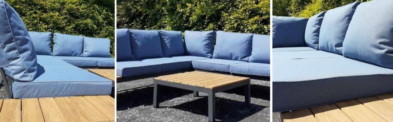 Horkans Innisfree aluminium lounge set
