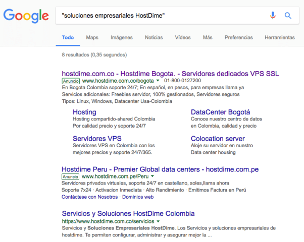 Truco 1 búsquedas en Google