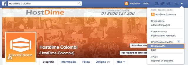 configuracion de busqueda en facebook