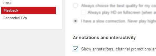 desactivar anotaciones en youtube