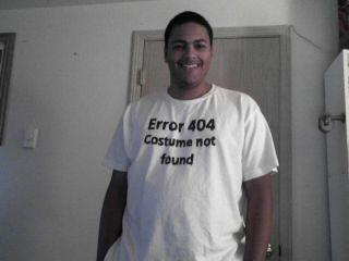error 404 disfraz