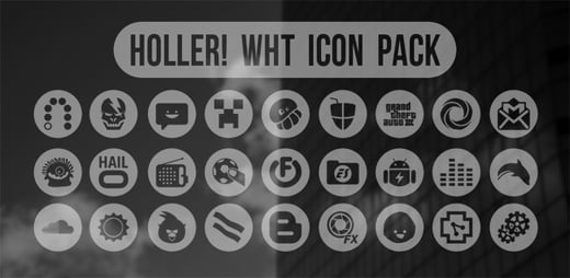 holler wht icon Android