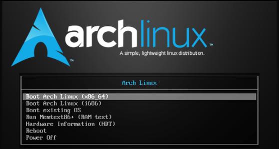 instalador arch linux