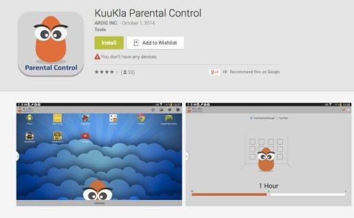 kuukla aplicacion control parental android