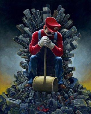mario bross juego de tronos