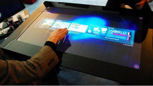 samsung sur40 tablet tactil
