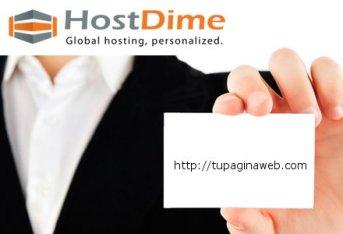 tarjeta de presentacion web
