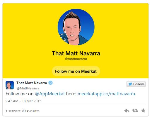 usuarios meerkat twitter