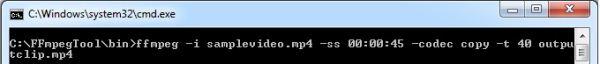 video con ffmpeg desde la consola