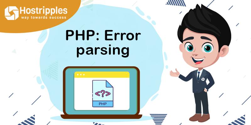 PHP: Error parsing, Hostripples Web Hosting