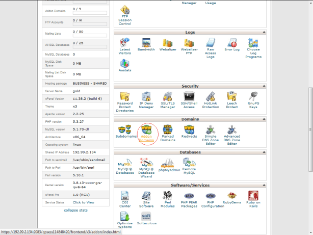 , Steps to add Addon Domain from the cpanel!, Hostripples Web Hosting