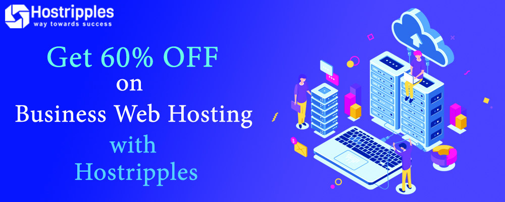 , Get 60% Off on Business Web Hosting with Hostripples!, Hostripples Web Hosting