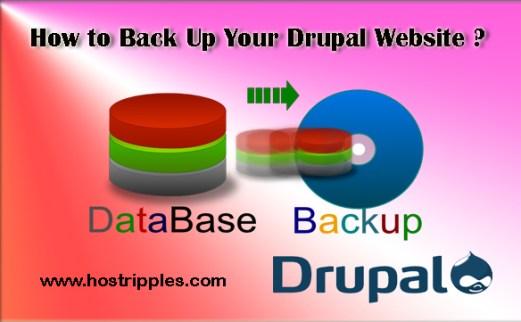 Back Up, How to Back Up Your Drupal Website, Hostripples Web Hosting
