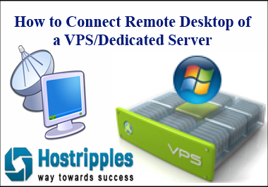 Remote Desktop, How to Connect Remote Desktop of a VPS/Dedicated Server, Hostripples Web Hosting