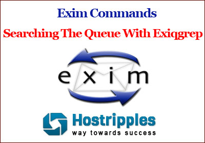 Exim Commands, Exim Commands : Searching the queue with exiqgrep, Hostripples Web Hosting