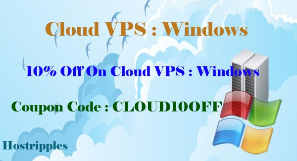 Cloud VPS Discount
