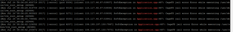 CageFS jail error Error while executing /usr/sbin/lve_root_setup, Hostripples Web Hosting