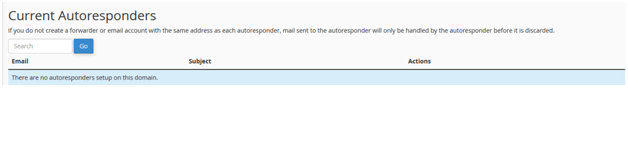 Know How To Setup Email Autoresponders in cPanel, Hostripples Web Hosting