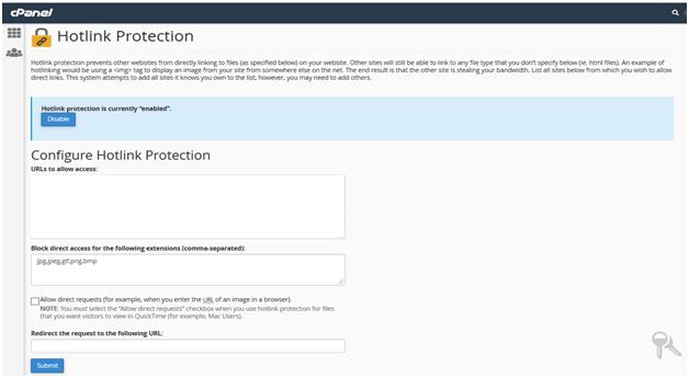 Hotlink protection, Hotlink Protection in cPanel: Managing Hotlink in cPanel in 7 Steps, Hostripples Web Hosting