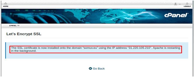 Steps to Install Let's Encrypt SSL Using cPanel, Hostripples Web Hosting