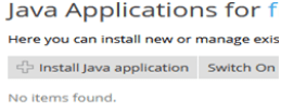 How to install Java, How to install Java Application from Plesk?, Hostripples Web Hosting