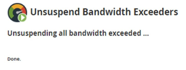 Unsuspend an Account of  Bandwidth Exceeders in WHM (Complete Guide), Hostripples Web Hosting