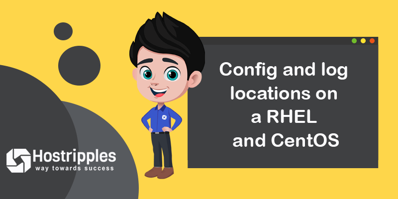 Config and log locations on a RHEL and CentOS for Vesta Control Panel, Hostripples Web Hosting