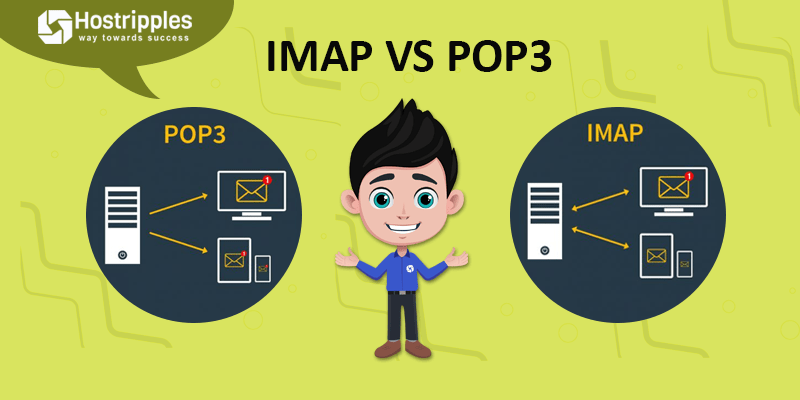 mail server, IMAP vs POP3: How POP3 / IMAP protocols work with the mail server, Hostripples Web Hosting