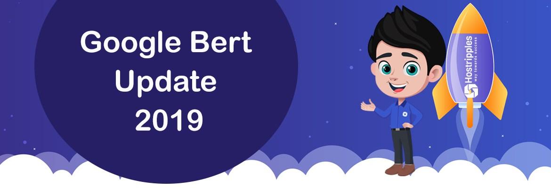 BERT, Last Update of 2019 | New Google Algorithm Update BERT- For 70 Different Languages!, Hostripples Web Hosting