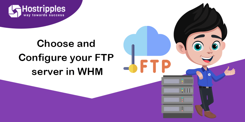 Choose and Configure your FTP server in WHM, Hostripples Web Hosting