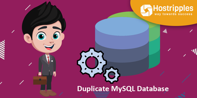 Duplicate MySQL Database, Hostripples Web Hosting