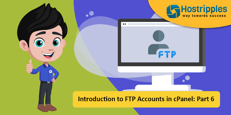 Introduction to FTP Accounts in cPanel: Part 6, Hostripples Web Hosting