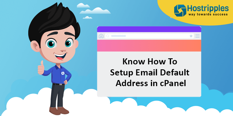 Know How To Setup Email Default Address in cPanel, Hostripples Web Hosting