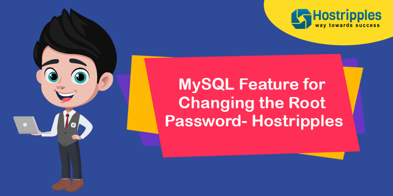 MySQL Feature for Changing the Root Password- Hostripples, Hostripples Web Hosting