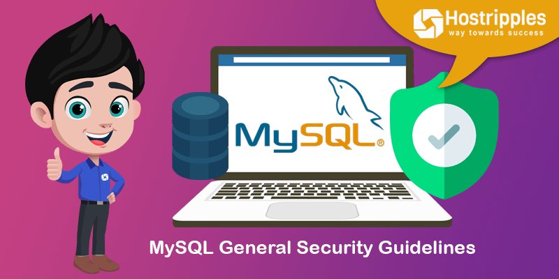 MySQL General Security Guidelines, Hostripples Web Hosting