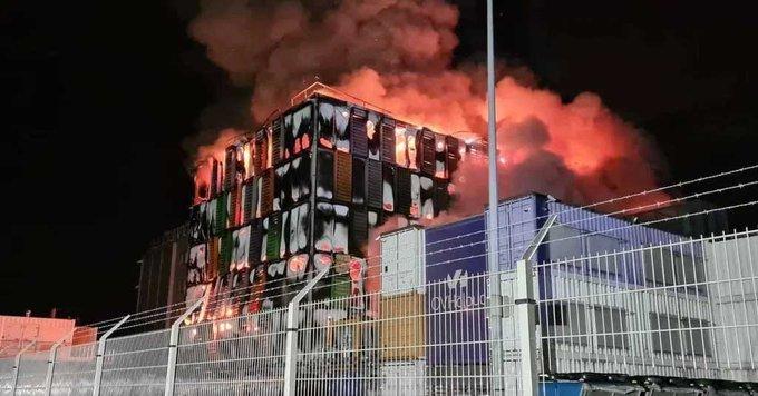 data center at fire