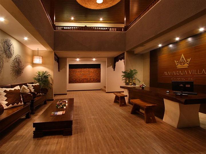 Maharaja Villas - Lobby - Hoterip, Layanan Pesan Hotel Terbaik, Pesan dan Booking Hotel di Bali