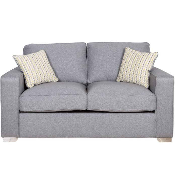 Marino 120cm Suffolk Grey Sofa Bed