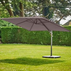 Supremo Provence Taupe Deluxe 300cm Parasol