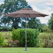 Supremo Riviera 300cm Taupe Garden Parasol