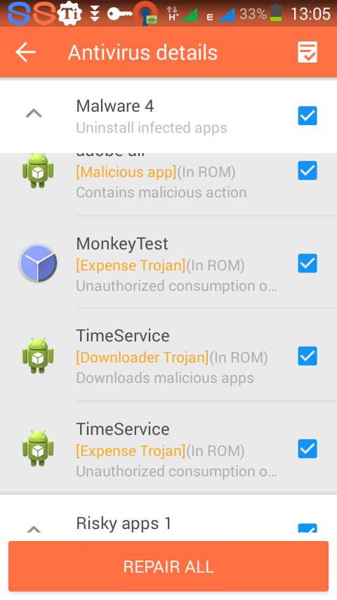 Virus Guard Android Phones