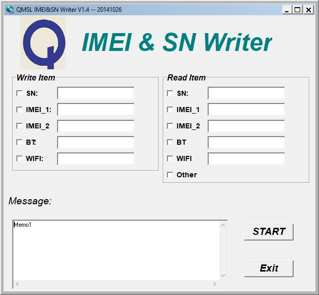 How to use QMSL IMEI & SN Tool
