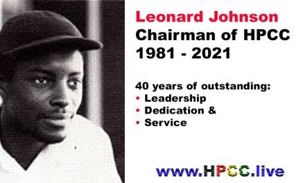Leonard Johnson Chairman of HPCC