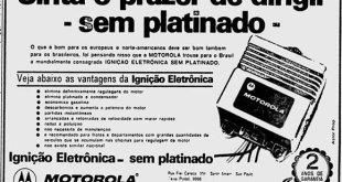 Ignição eletrônica Motorola