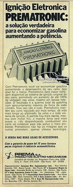prematronic